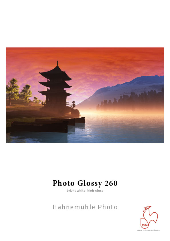 Hahnemühle Photo Glossy 260gsm